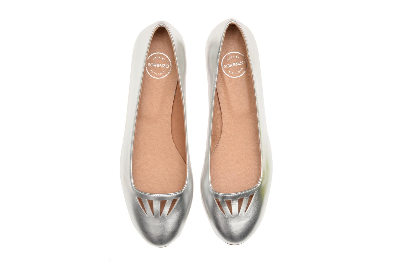Ballet pumps Made by SARENZA Colette en terrasse #1 Silver model view