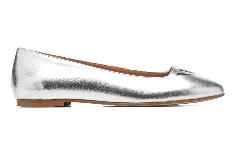 Ballet pumps Made by SARENZA Colette en terrasse #1 Silver detailed view/ Pair view