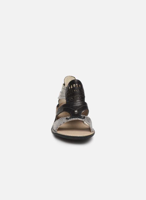 Sandali e scarpe aperte Dorking Oda 6769 Nero modello indossato