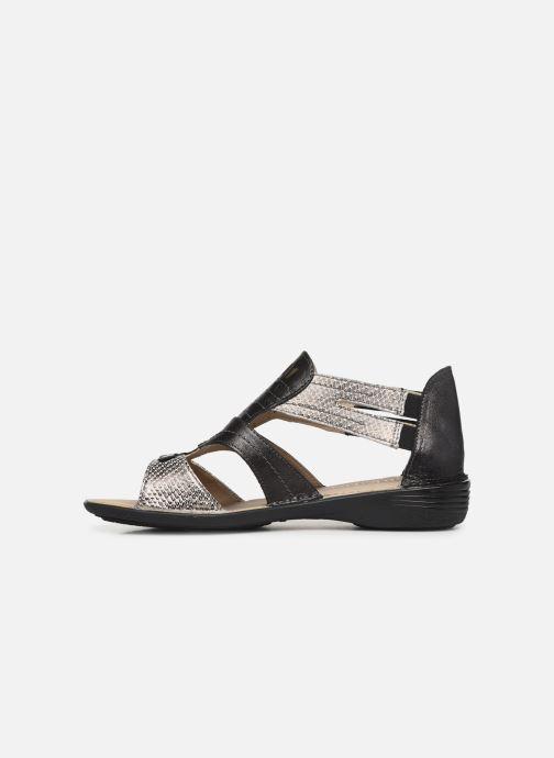 Sandales et nu-pieds Dorking Oda 6769 Noir vue face