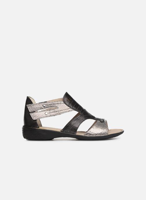 Sandales et nu-pieds Dorking Oda 6769 Noir vue derrière