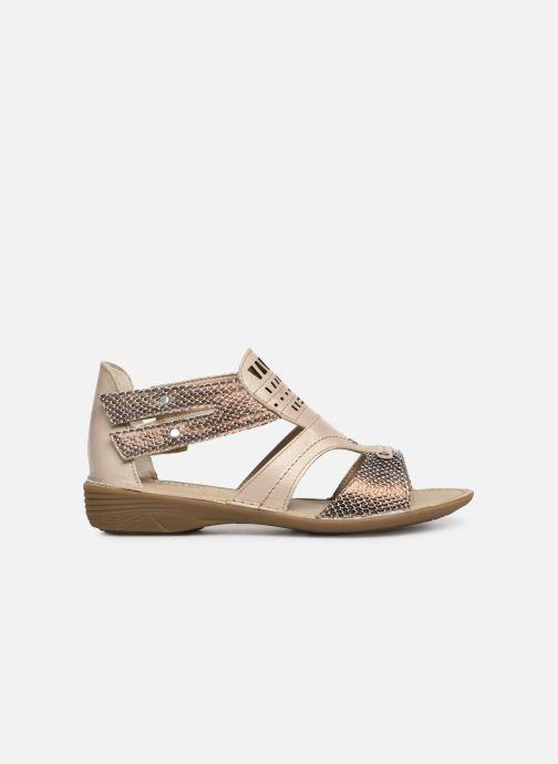 Sandales et nu-pieds Dorking Oda 6769 Beige vue derrière