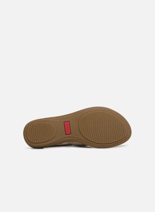 Sandales et nu-pieds Dorking Oda 6769 Beige vue haut