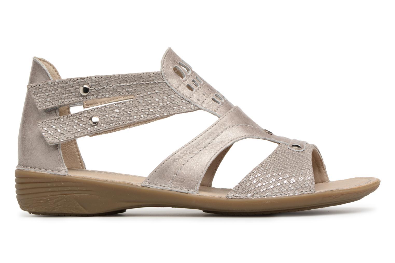 Sandales et nu-pieds Dorking Oda 6769 Gris vue derrière