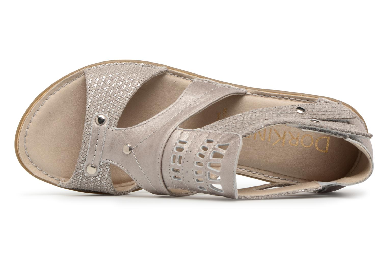 Sandales et nu-pieds Dorking Oda 6769 Gris vue gauche