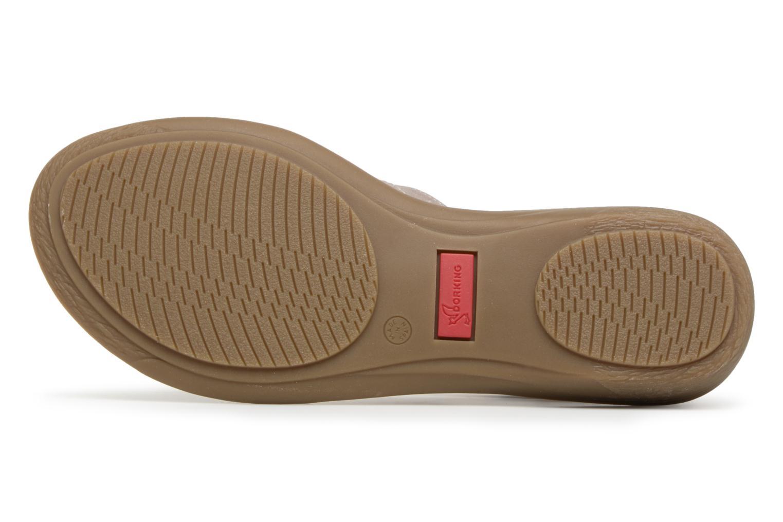 Sandales et nu-pieds Dorking Oda 6769 Gris vue haut