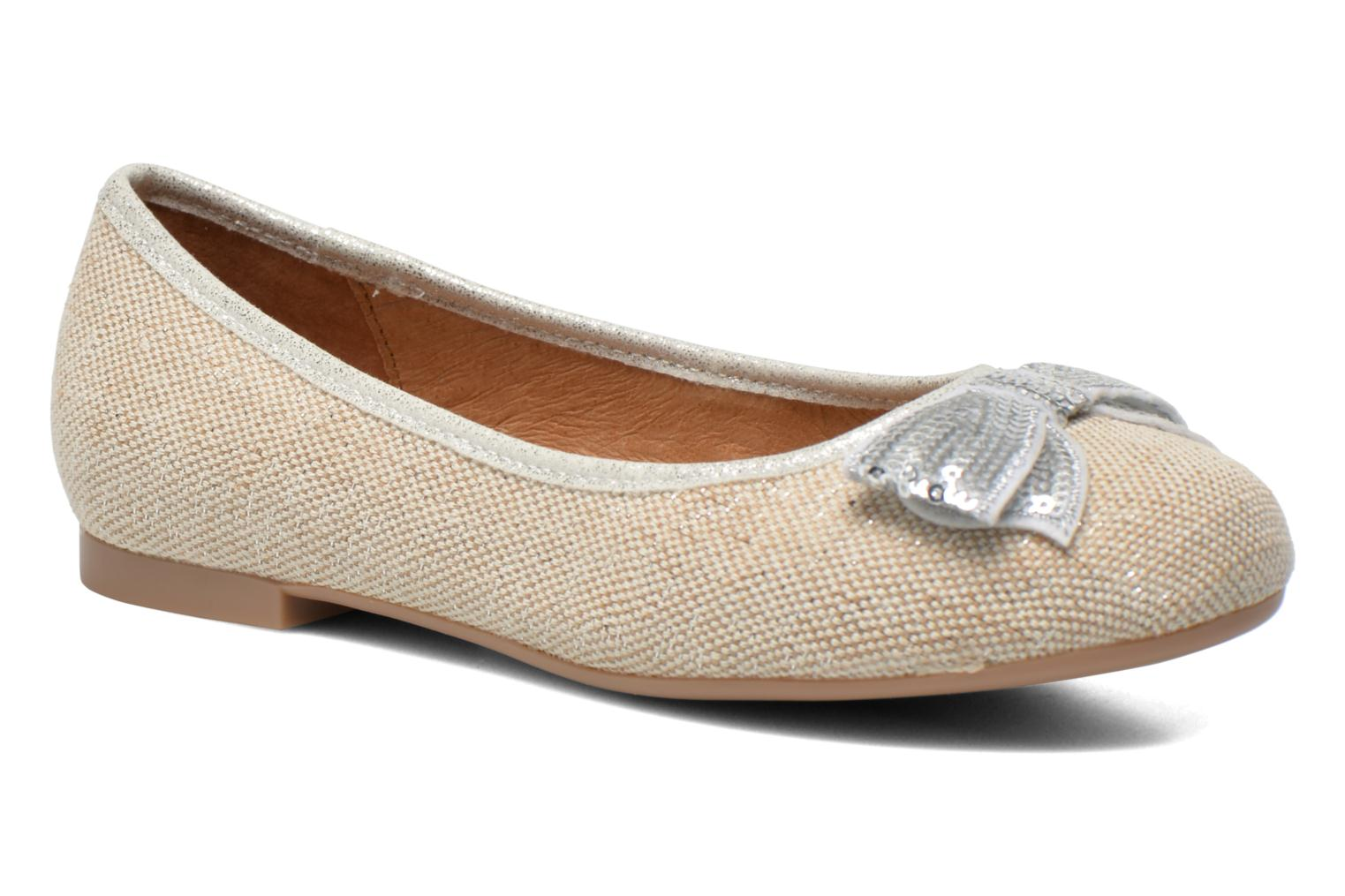 Ballet pumps Mellow Yellow Mnvabling Beige detailed view/ Pair view