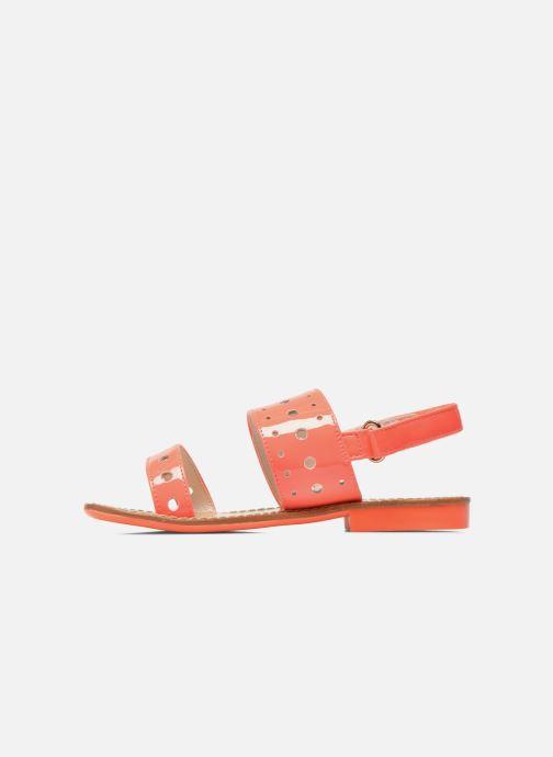 Sandalen Mellow Yellow Mnvadina rosa ansicht von vorne