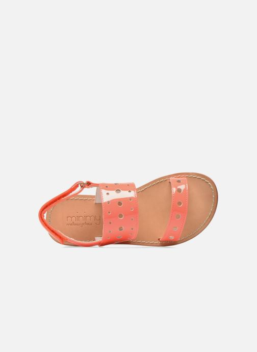 Sandals Mellow Yellow Mnvadina Pink view from the left
