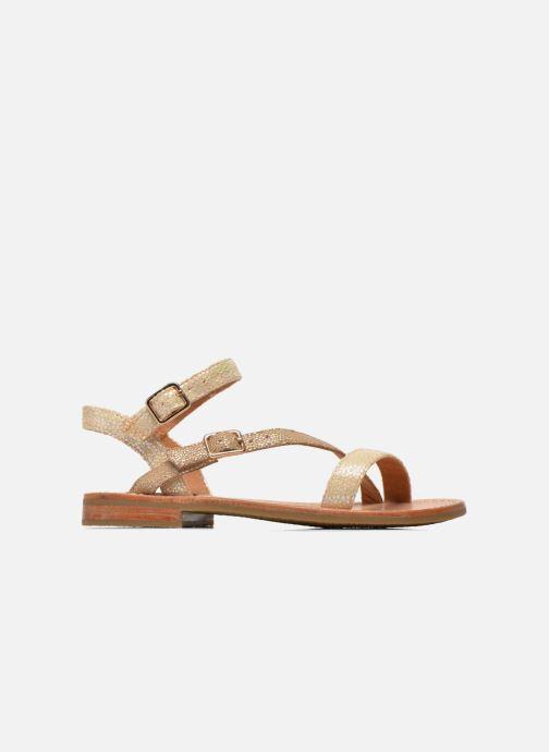 Sandales et nu-pieds Mellow Yellow Mnvaloma Jaune vue derrière