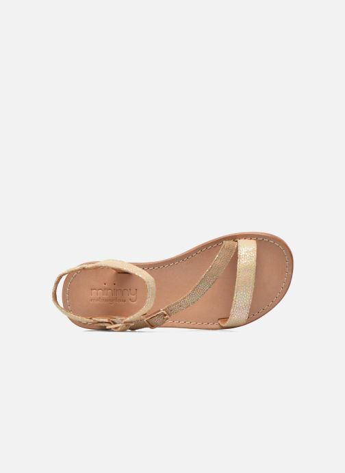 Sandales et nu-pieds Mellow Yellow Mnvaloma Jaune vue gauche