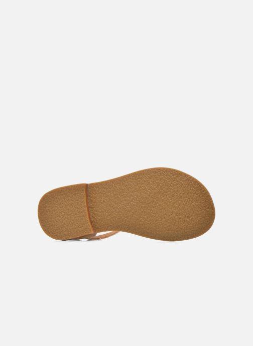 Sandales et nu-pieds Mellow Yellow Mnvaloma Jaune vue haut
