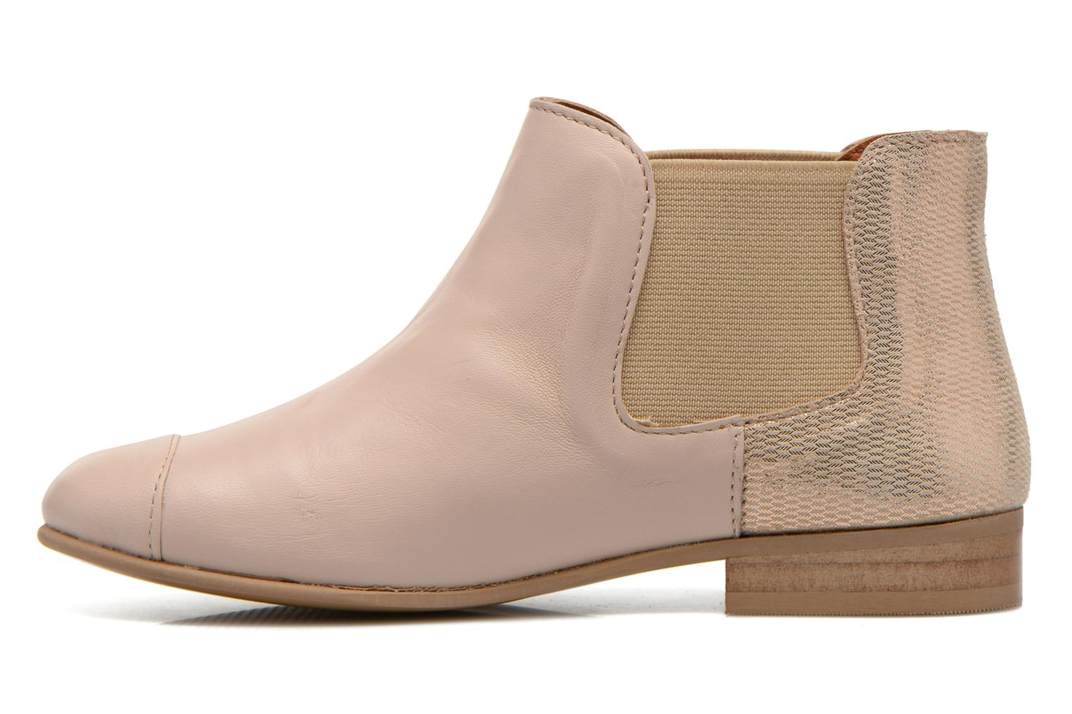 Ankle boots Mellow Yellow Mnvimalia Pink front view