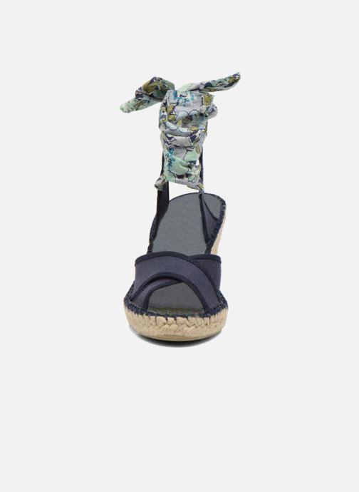 Sandales et nu-pieds Pare Gabia Kerine Bleu vue portées chaussures