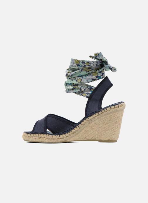 Sandales et nu-pieds Pare Gabia Kerine Bleu vue face