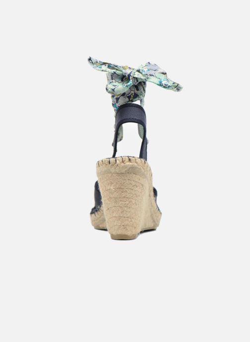 Sandales et nu-pieds Pare Gabia Kerine Bleu vue droite