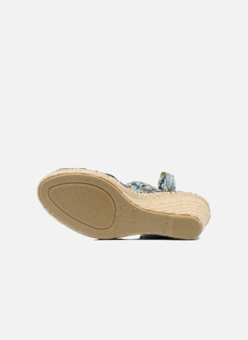 Sandales et nu-pieds Pare Gabia Kerine Bleu vue haut