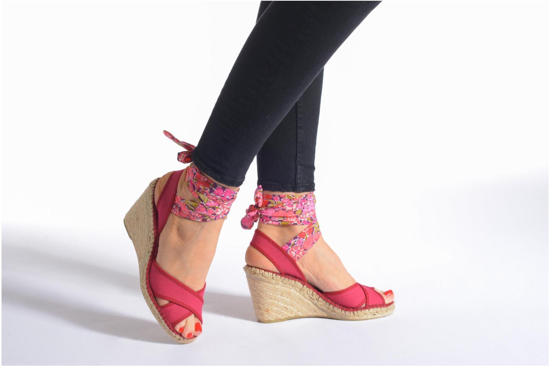 Sandales et nu-pieds Pare Gabia Kerine Rose vue bas / vue portée sac