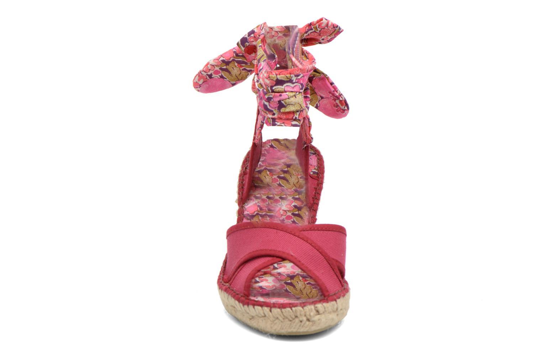 Sandales et nu-pieds Pare Gabia Kerine Rose vue portées chaussures