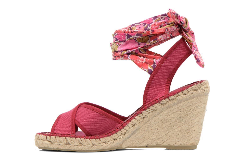 Sandales et nu-pieds Pare Gabia Kerine Rose vue face