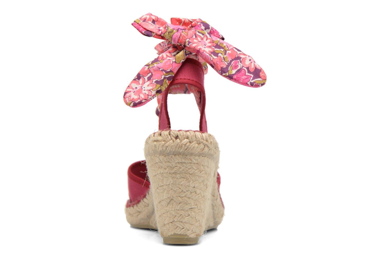 Sandales et nu-pieds Pare Gabia Kerine Rose vue droite
