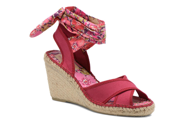 Sandales et nu-pieds Pare Gabia Kerine Rose vue détail/paire