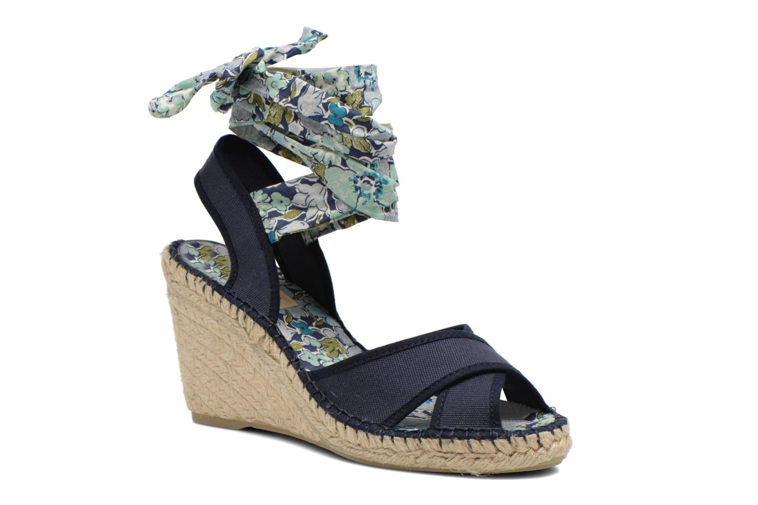 Sandals Pare Gabia Kerine Blue detailed view/ Pair view