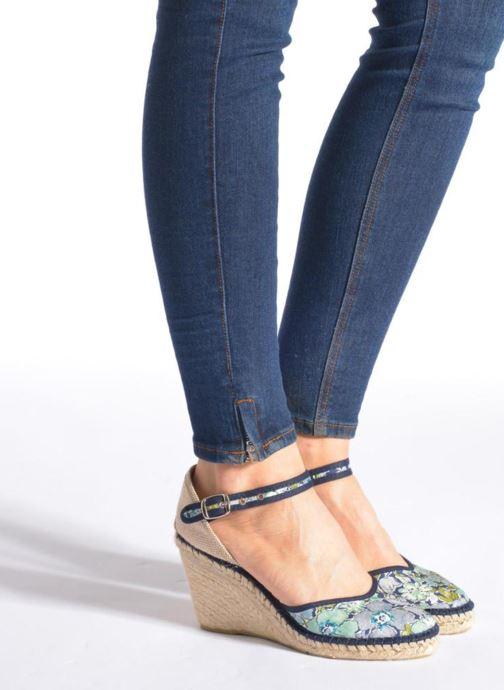 Sandales et nu-pieds Pare Gabia Katy Multicolore vue bas / vue portée sac