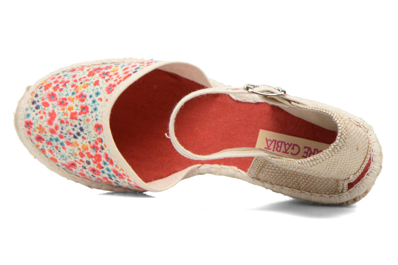 Sandals Pare Gabia Katy Multicolor view from the left