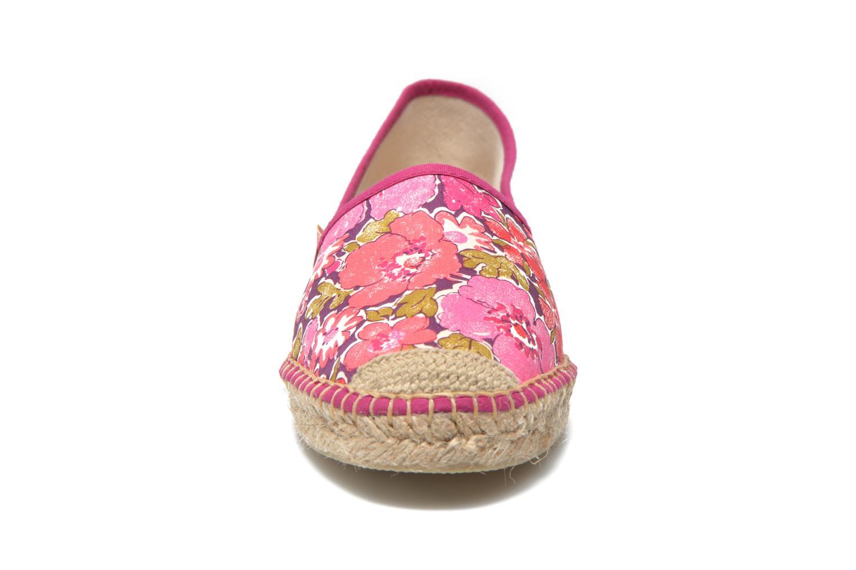 Espadrilles Pare Gabia VP mix Rose vue portées chaussures