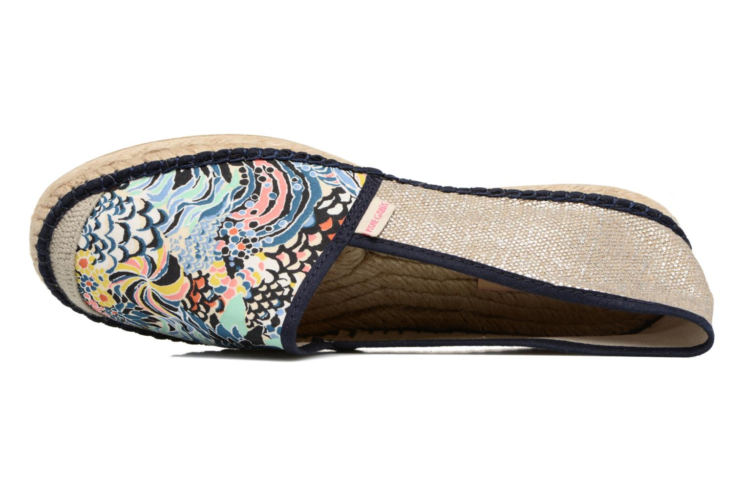 Espadrilles Pare Gabia VP mix Blue view from the left