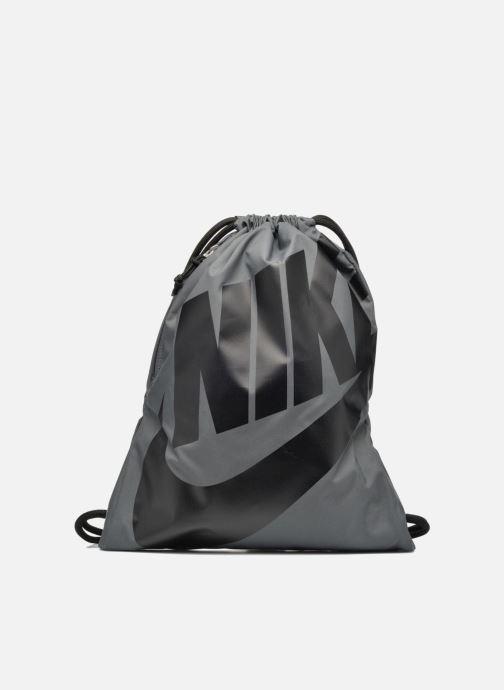 Sporttassen Nike NIKE HERITAGE GYMSACK Grijs detail