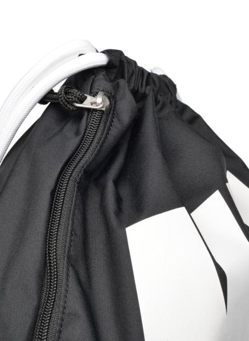 Bolsas de deporte Nike NIKE HERITAGE GYMSACK Negro vista lateral izquierda