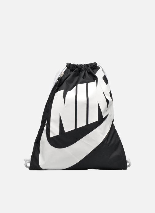 Bolsas de deporte Nike NIKE HERITAGE GYMSACK Negro vista de detalle   par c9a09a462d4fb