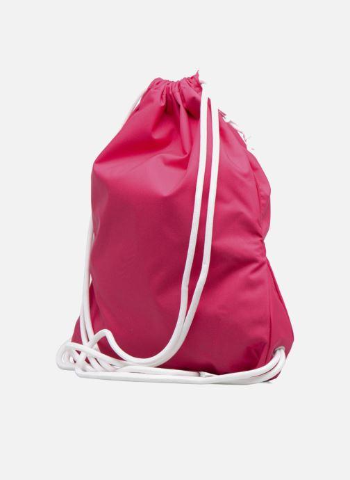 Sporttaschen Nike NIKE HERITAGE GYMSACK rosa ansicht von rechts
