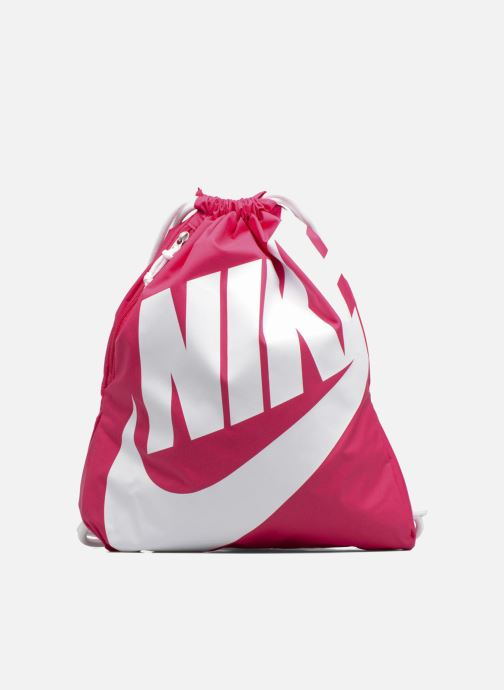 Bolsas de deporte Nike NIKE HERITAGE GYMSACK Rosa vista de detalle   par ab8465ff56806