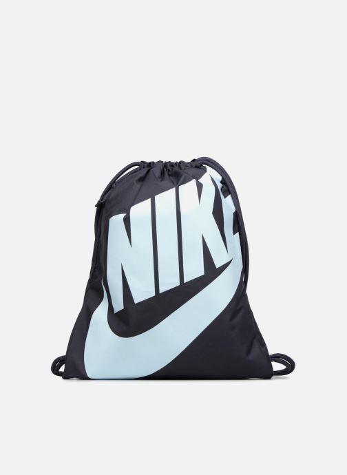 Sacs de sport Nike NIKE HERITAGE GYMSACK Bleu vue détail/paire