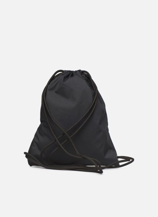 Sports bags Nike NIKE HERITAGE GYMSACK Black front view