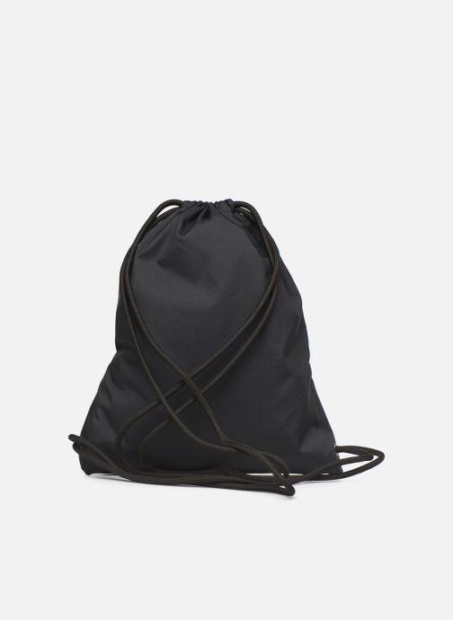 Sporttaschen Nike NIKE HERITAGE GYMSACK schwarz ansicht von vorne