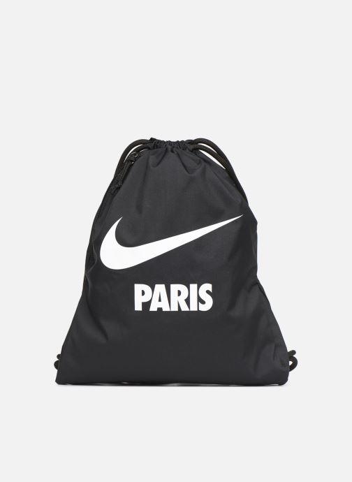Sporttassen Nike NIKE HERITAGE GYMSACK Zwart detail