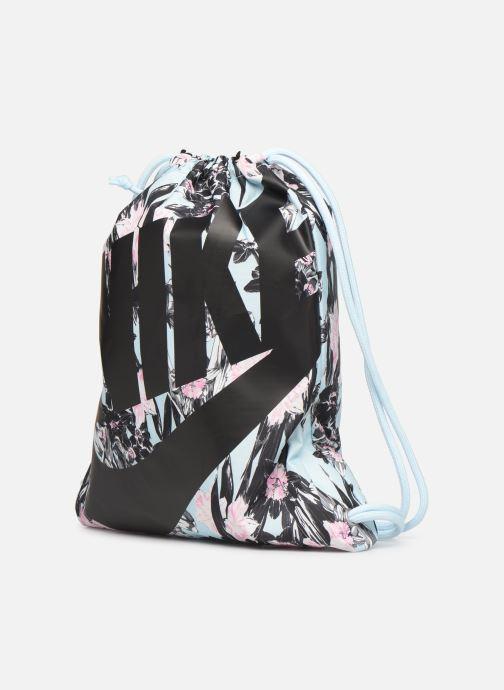Sporttaschen Nike NIKE HERITAGE GYMSACK mehrfarbig schuhe getragen
