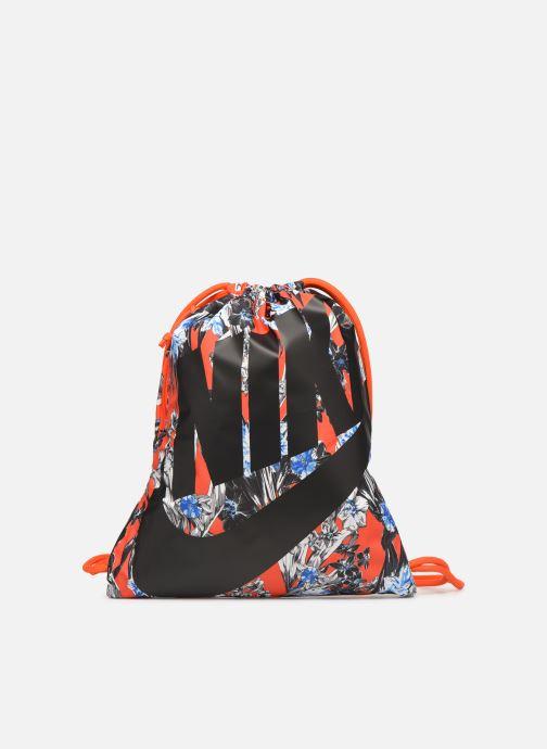 Sportväskor Nike NIKE HERITAGE GYMSACK Orange detaljerad bild på paret