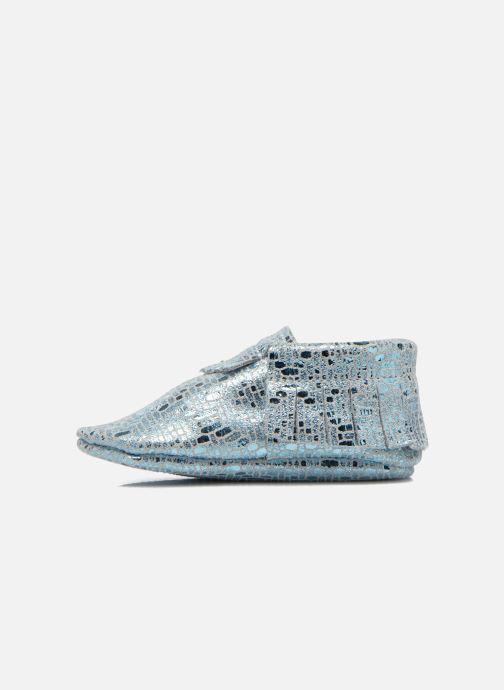 Pantofole Hippie Ya Mocassins Catral Azzurro immagine frontale