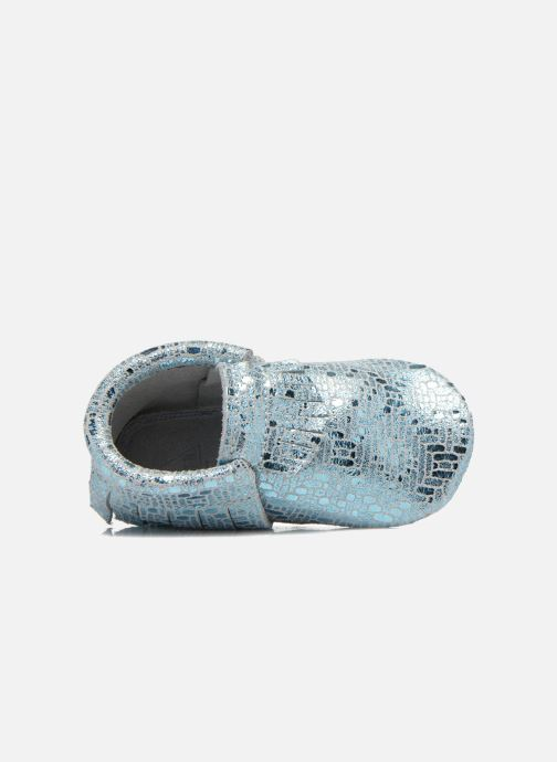 Pantofole Hippie Ya Mocassins Catral Azzurro immagine sinistra