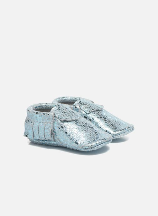 Slippers Hippie Ya Mocassins Catral Blue detailed view/ Pair view