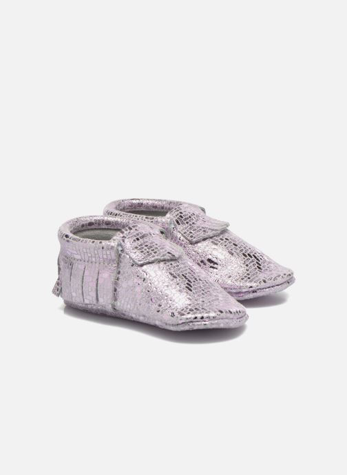 Slippers Hippie Ya Mocassins Catral Pink detailed view/ Pair view