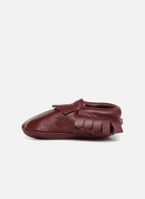Pantofole Hippie Ya Mocassins Marrone immagine frontale