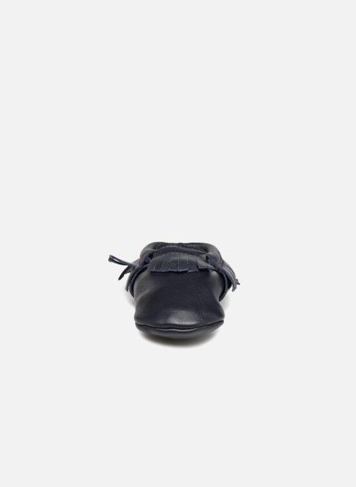 Pantofole Hippie Ya Mocassins Azzurro modello indossato