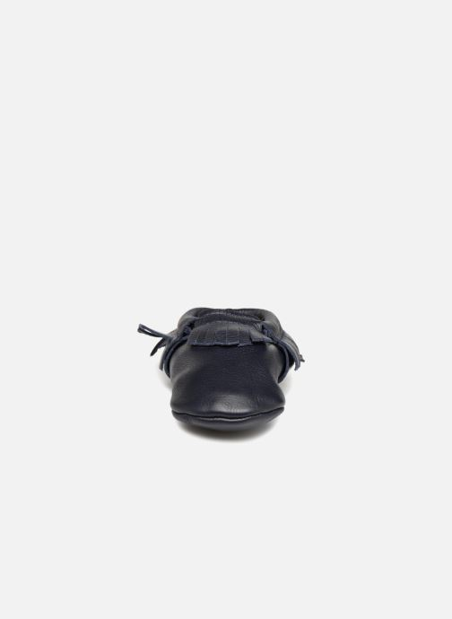 Chaussons Hippie Ya Mocassins Bleu vue portées chaussures