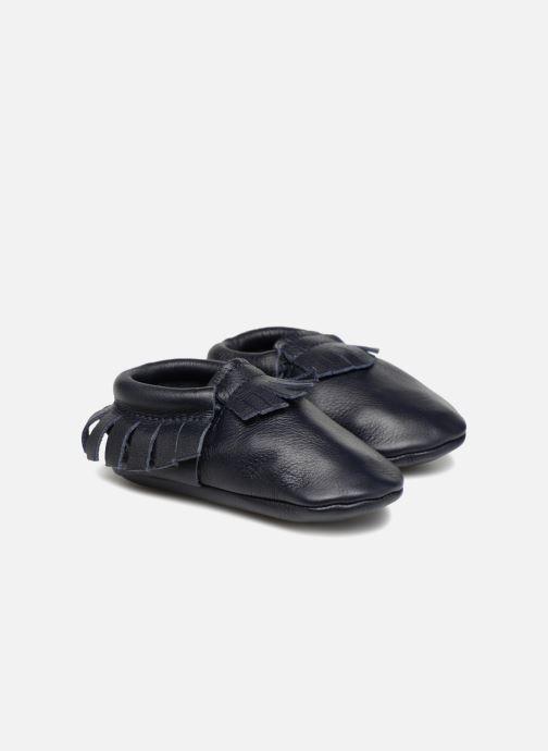Pantofole Hippie Ya Mocassins Azzurro vedi dettaglio/paio